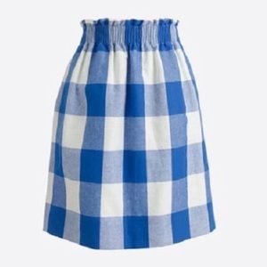 J. Crew Women's Sidewalk Mini Skirt Buffalo Plaid